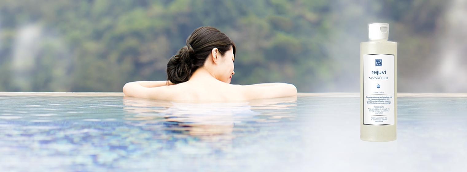 Resultats d'un massage, traitement professionel d'exeption en 2 formats